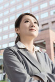Young pretty Asian business woman portrait Stock Images