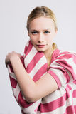 Young pretty blond Royalty Free Stock Image