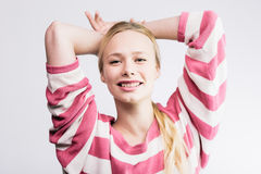 Young pretty blond Stock Photos