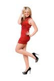 Young pretty blond lady Royalty Free Stock Photography