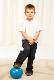 Young pretty boy Stock Images