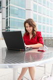 Young Pretty Business Woman Royalty Free Stock Photo