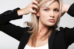 Young pretty businesswoman. Stock Photo