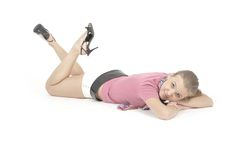 Young pretty girl Royalty Free Stock Photography