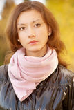 Young pretty girl Stock Images