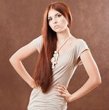 Young pretty girl Royalty Free Stock Photo
