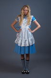 Young pretty girl in fairy-tale dress Stock Image