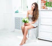 Young pretty girl Stock Photos