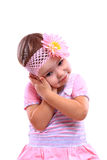 Young pretty little girl Stock Photo