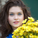 Young and pretty woman Royalty Free Stock Image