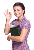 Happy student Royalty Free Stock Image