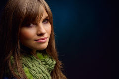 Young pretty woman portrait Royalty Free Stock Images
