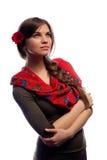 Young pretty woman portrait in studio Stock Photos