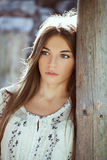 Young pretty woman Royalty Free Stock Images