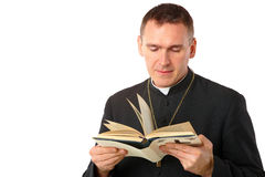 Young priest Royalty Free Stock Images
