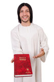 Young priest with bible Royalty Free Stock Photography