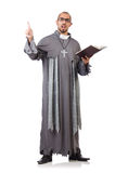 Young priest Royalty Free Stock Photos