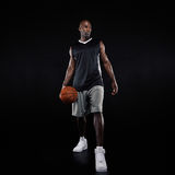 Young professional basketball player Stock Photography
