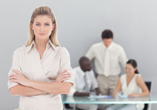 Young professional Business Woman Royalty Free Stock Image