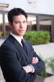Young professional businessman Stock Photo