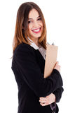Young professional businesswoman Stock Photography