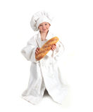 Young Professional Chef to Be Royalty Free Stock Photo