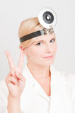 Young professional female doctor Stock Photos