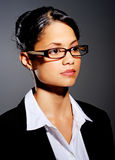 Young professional with glasses Stock Images