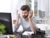 Young professional man Royalty Free Stock Photo