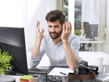 Young professional man Royalty Free Stock Photography