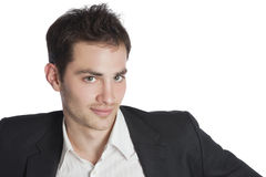 Young professional smiling Royalty Free Stock Photo