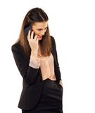 Young Professional Talking on Phone Stock Photography