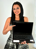 Young professional woman Stock Images