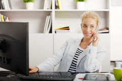 Young professional woman Stock Photography