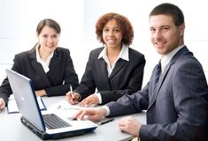Young professionals Stock Photo