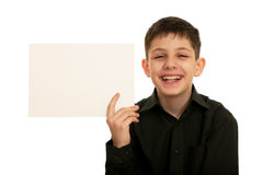 Young promoter Royalty Free Stock Photos