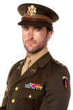 Young proud military officer Royalty Free Stock Photography