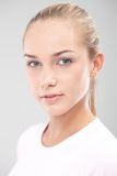 Young pure face teenager Royalty Free Stock Photo
