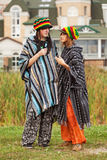 Young rastafarian people Royalty Free Stock Images