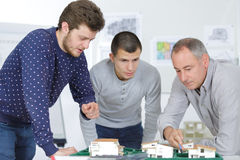 Young real estate developers Stock Photos