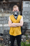 Young rebel in bandana Stock Photography