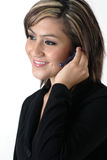 Young Receptionist Royalty Free Stock Images