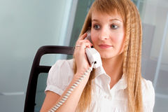 Young receptionist Royalty Free Stock Photography