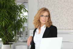 Young receptionist Stock Photos