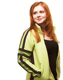 Young red haired girl Stock Image