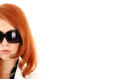Young red-haired girl Stock Photo