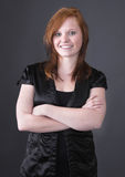 Young red-haired girl Royalty Free Stock Photos