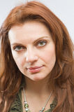 Young red-haired woman Royalty Free Stock Image