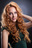 Young Red- Haired Woman Stock Photos
