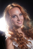 Young Red- Haired Woman Royalty Free Stock Image